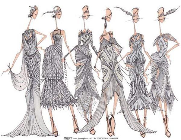 很多设计独特的服装上面为何没有图案或花纹?