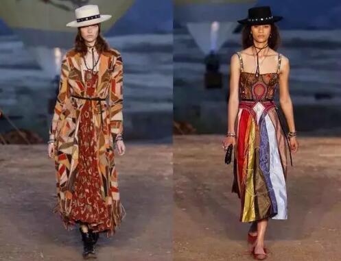 2018春夏女装流行趋势盘点告诉你这五大流行趋势让你越穿越美