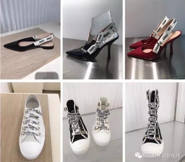 潮流趋势 | 2018春夏Christian Dior女鞋订货会趋势解析
