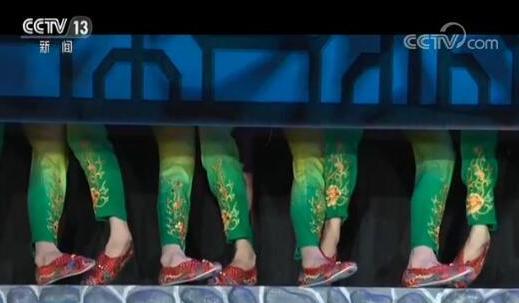 【2018春晚揭秘】 舞蹈《亮花鞋》:姑娘晒幸福 民俗贺新年