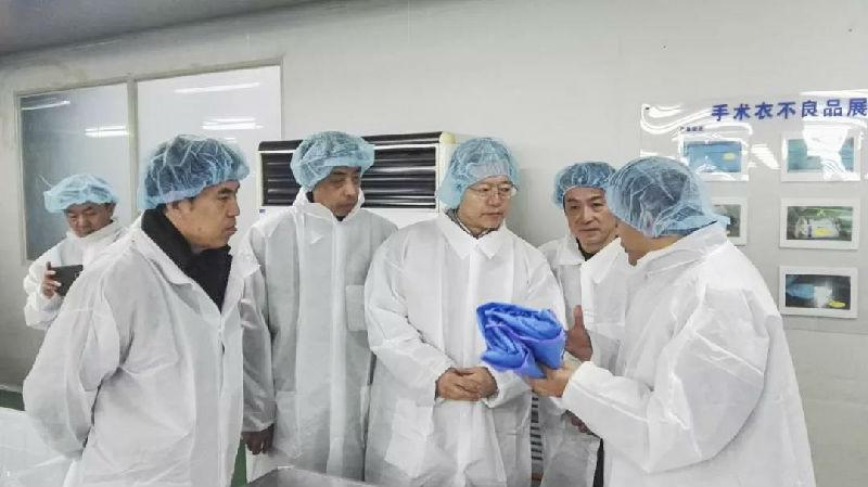 【2018中纺联调研】夏令敏带队调研安徽:春风送暖转型忙