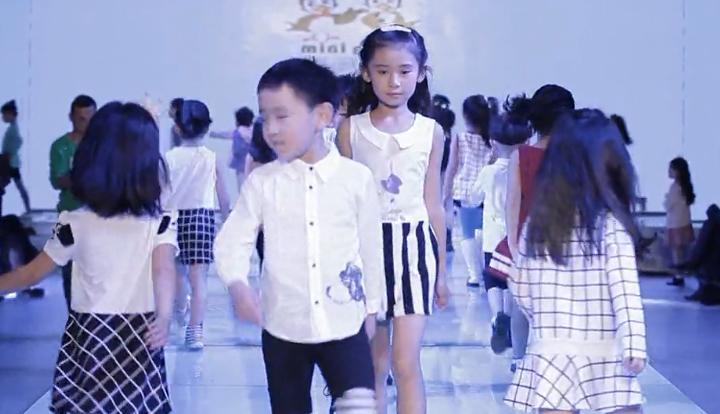 Mini petrel(咪呢皮特)春夏季2-8岁中小童装展