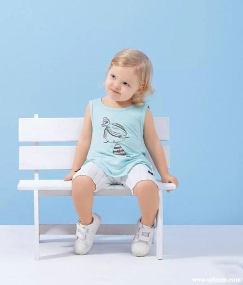 婴姿坊时尚宝宝百搭小背心 清爽穿出来
