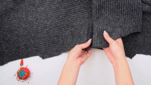 最近流行的oversize毛衣,不做件试试吗?