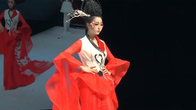 美轮美奂的人物形象设计毕业设计彩妆秀