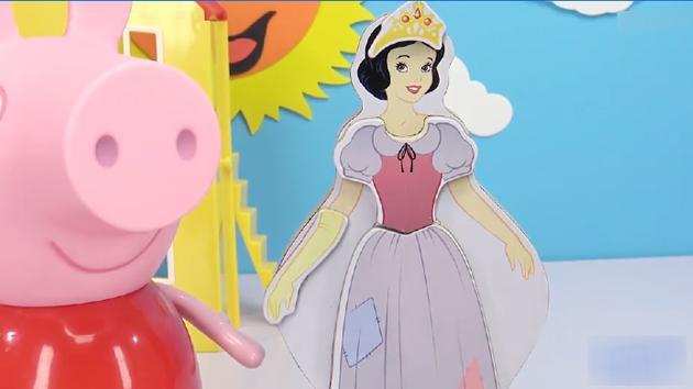 欣賞一場你從來沒有見過的白雪公主服裝秀