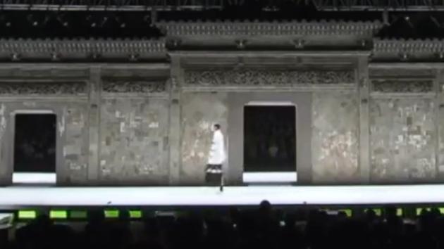 如歌的行走,中国美院服装展览就是棒