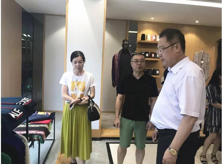 中国毛纺织行业协会到大朗开展产业集群共建试点复评考察工作!