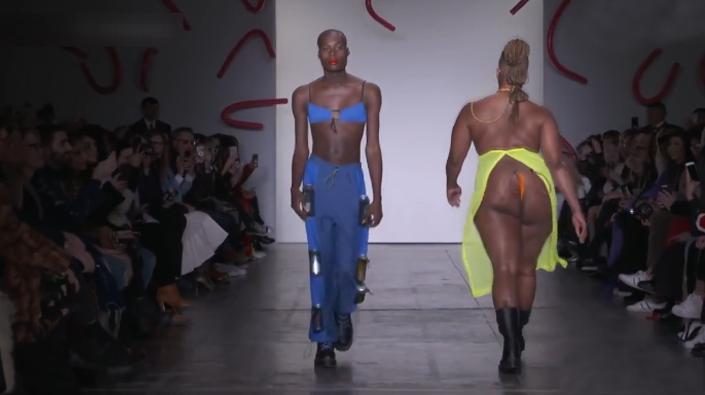 Chromat大胆起用胖模特,真是一次疯狂的尝试
