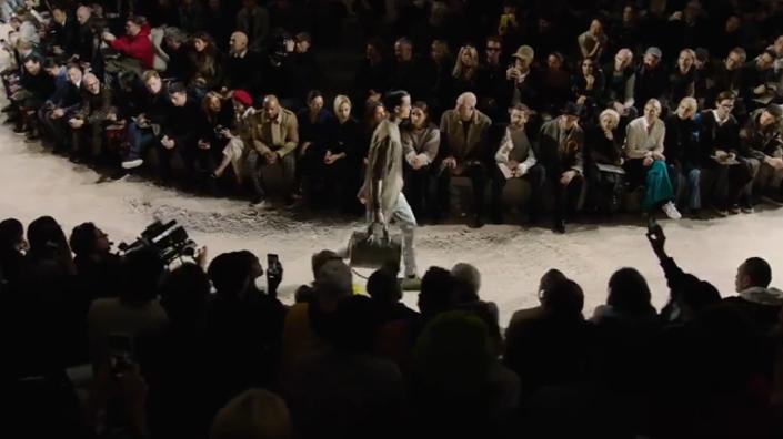 LV路易威登秋冬男士时装秀!环形秀场,气质超然