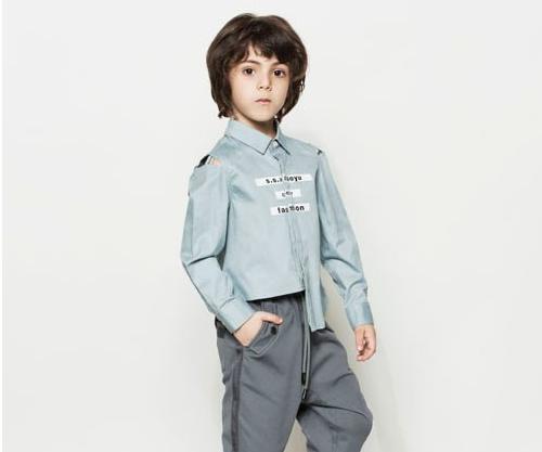 时尚小鱼童装  是绅士也是小潮男