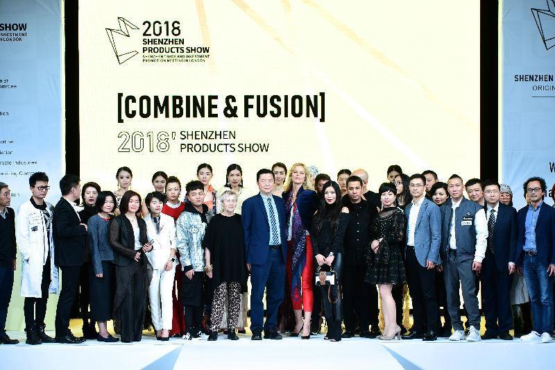 London Fashion Week丨深圳精品展在伦敦时装周彰显魅力