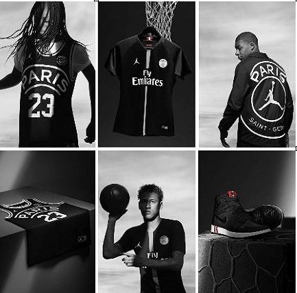与大巴黎推出联名产品 篮球巨头Jordan想让足球迷买单