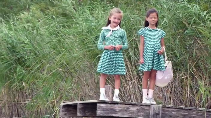 法国童装奢侈品牌Bonpoint,符合天真可爱的孩子气质