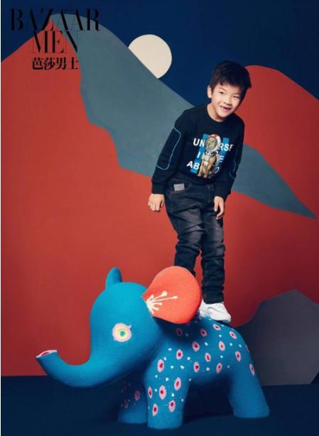 黄圣依母子登《芭莎男士》封面,杨安迪身穿ABC KIDS2018冬季新品亮相!