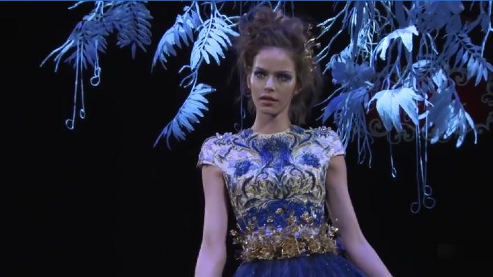 Guo Pei的春夏时装,一出场就颠覆你的感官视觉