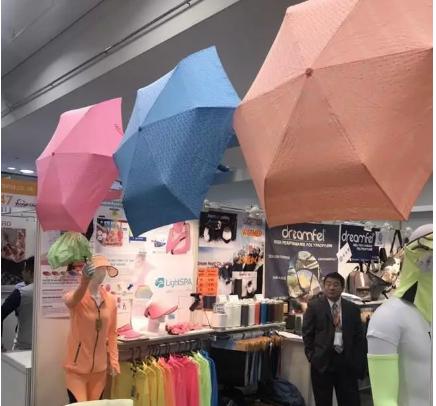 越晒越白的布料:台湾专利在日本纺织界引发瞩目,当场下订单