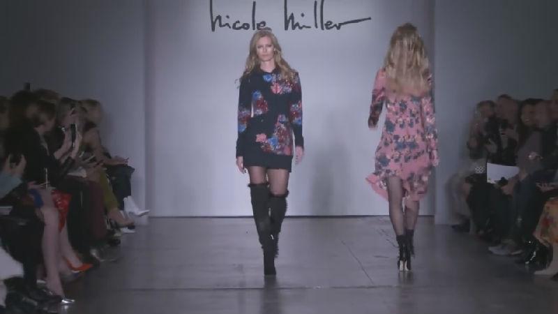 这场Nicole Miller的服装秀怎么美的那么自然