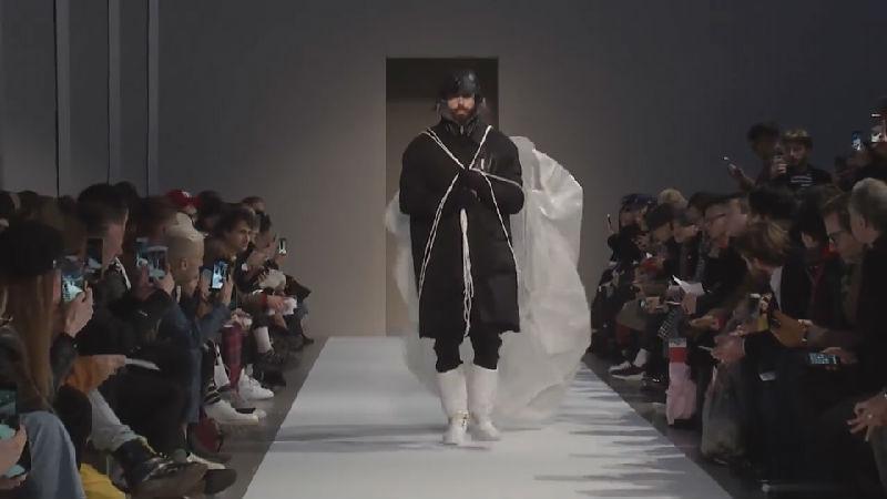 Yoshio Kubo这场秀好像下雨天的感觉