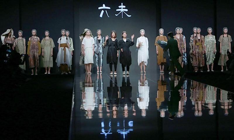 深圳原创设计时装周新品发布欣赏