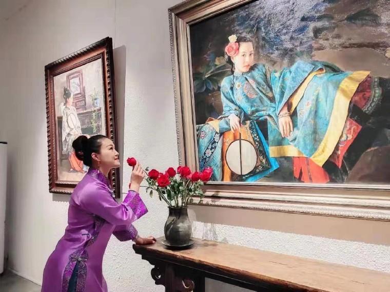 """""""明月映我心""""——王明月音畫主題藝術作品展在京舉行"""