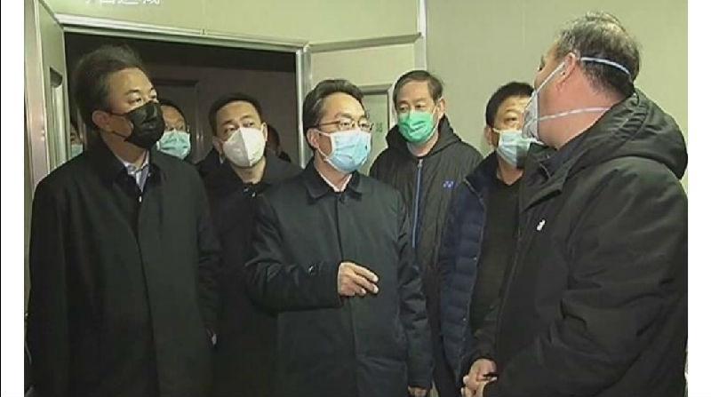 地方新聞:山西運城市委副書記、市長朱鵬就加快防護服投產親臨兵娟制衣公司現場辦公