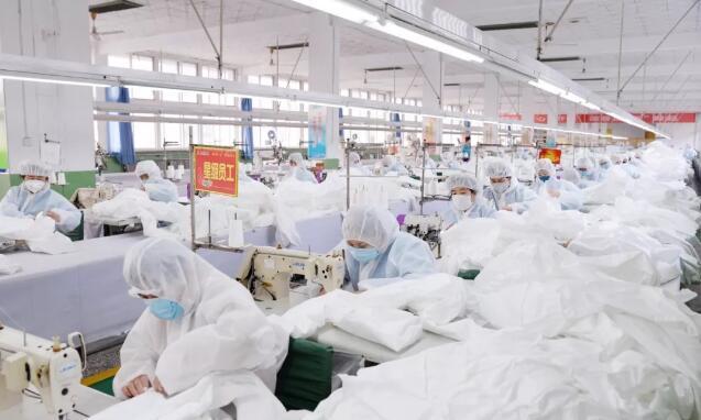 热点快播:山西际华3534为新型冠肺炎疫情生产防护服日产量1.3万件位居全国前五