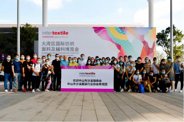 沙溪鎮組團赴深圳參展:借助新材料應用推動服裝產業升級