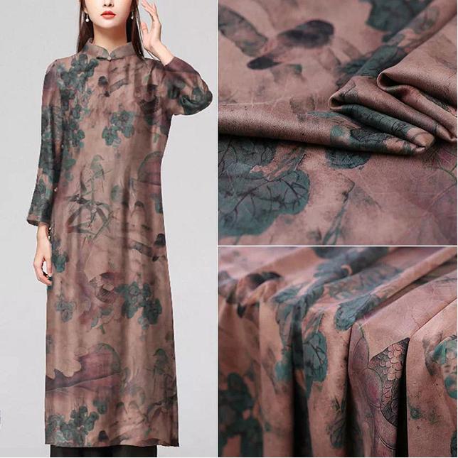 香云纱色彩研究:香云纱高贵典雅的色彩是中国传统色彩文化中的典范