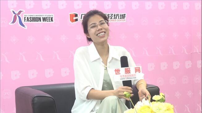 香港服装学院:专访2021大学生时装周银奖作品《城市丽人》获得者  叶浩