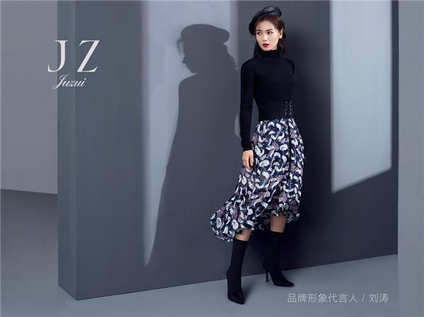 刘涛成为玖姿首位品牌代言人 共同演绎东方女性美