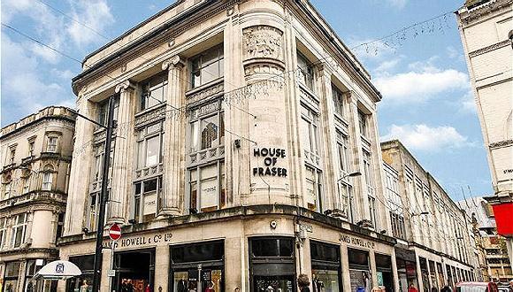 女鞋品牌千百度接手英国高端百货House of Fraser 野心不容小觑