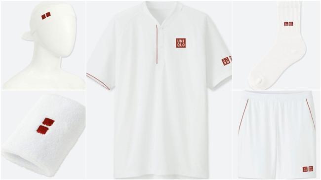 费德勒优衣库专属服装正式发售 运动套装价值120美元